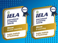 Image featuring iELA Award Badges